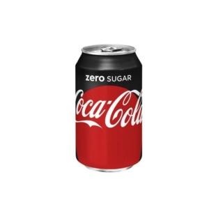 Coca-cola zero 330 ml.